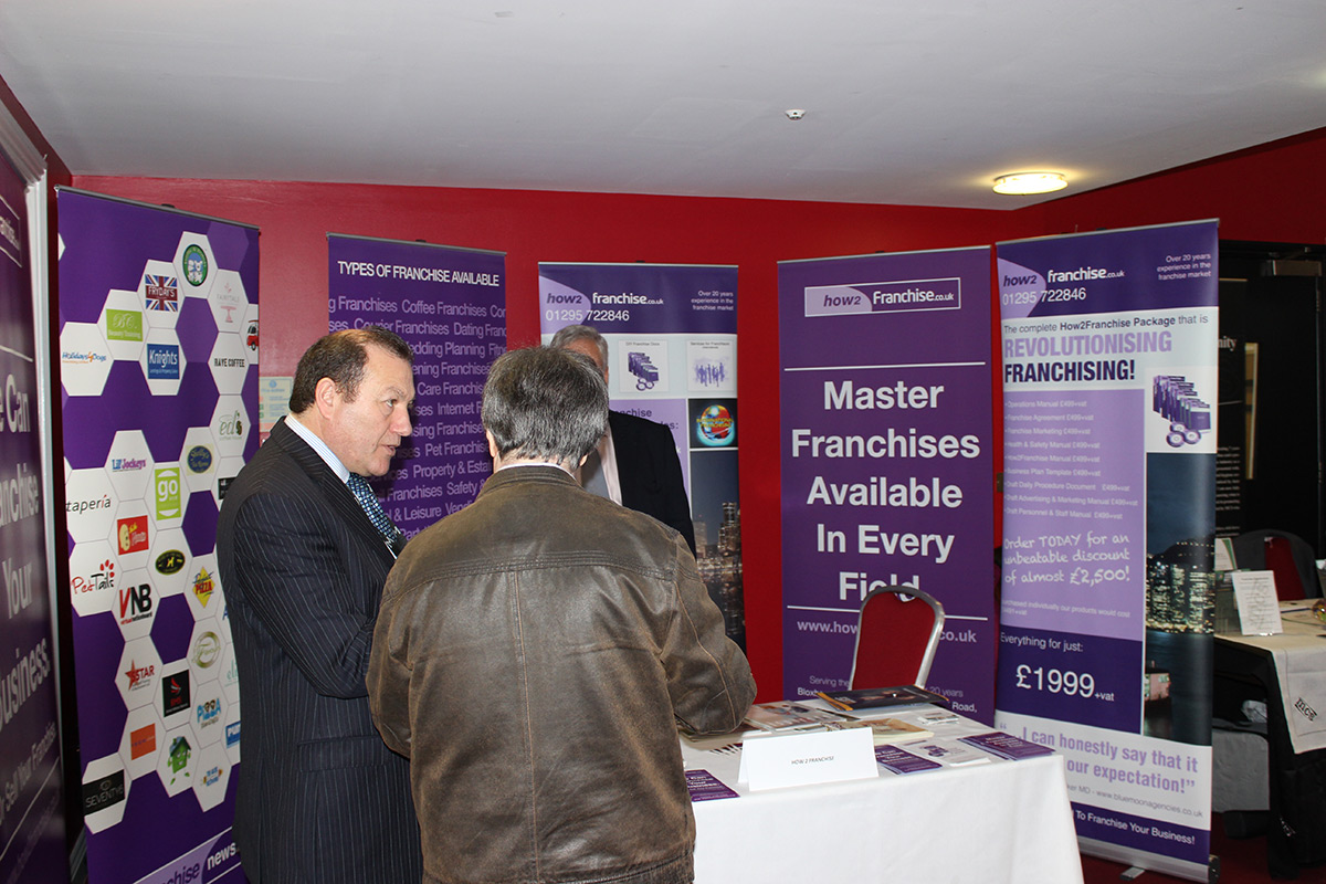 Milton Keynes Franchise Show - How to Franchise 1